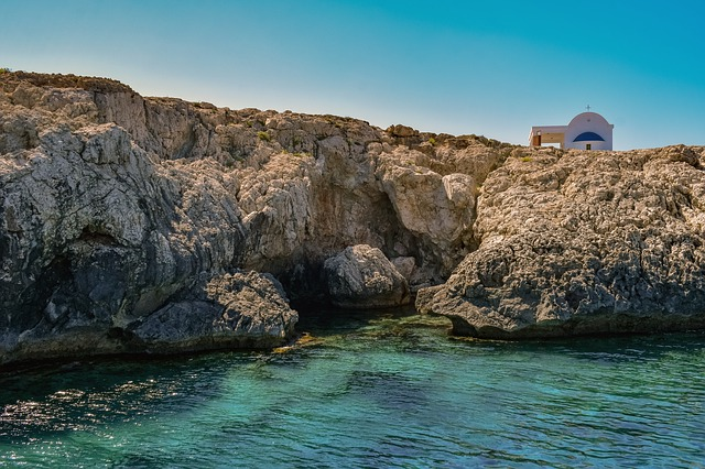 קפריסין - מצוקי חוף