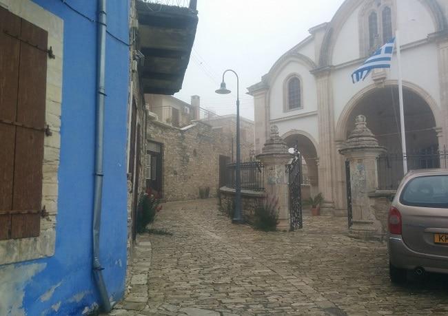 רחוב באחד מכפרי הטרודוס