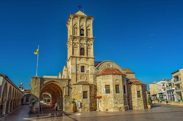 כנסיית סנט לזרוס (Agios Lazaros) בלרנקה