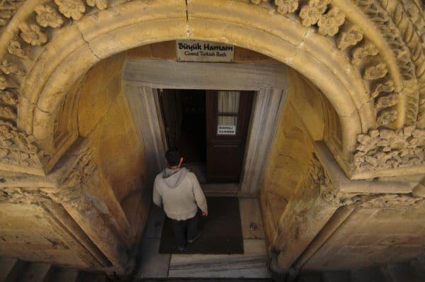 הכניסה ל-Buyuk Hamam