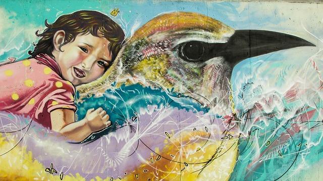 גרפיטי של אמן קפריסאי באיה נאפה