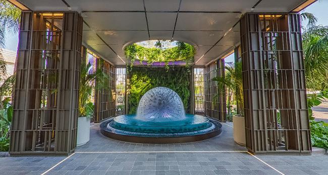 הכניסה למלון ארבעת העונות בלימסול - Four Seasons Hotel