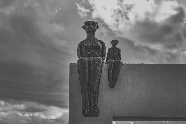 פסל בפארק הפסלים של איה נאפה