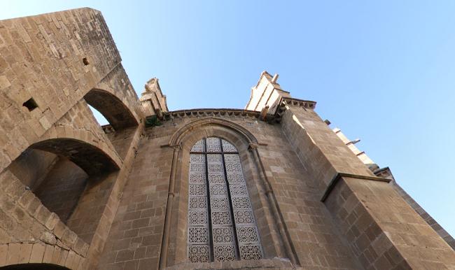 קיר של מסגד סלימיה