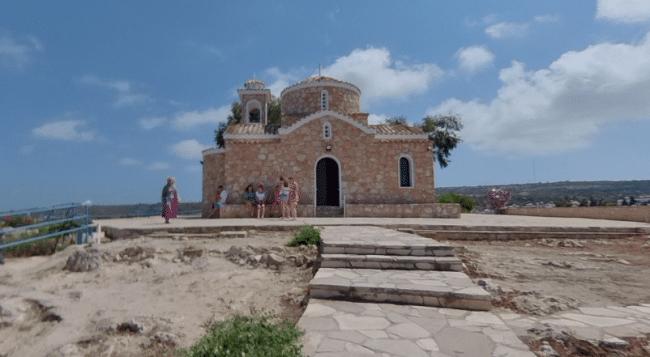 כנסיית פרופיטיס אליאס באיה נאפה - Profitis Ilias