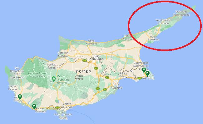 חצי האי קרפז בצפון קפריסין