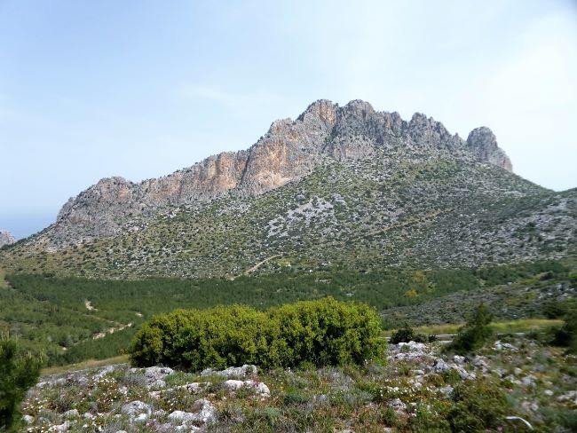 רכס קירניה - הרי חמשת האצבעות