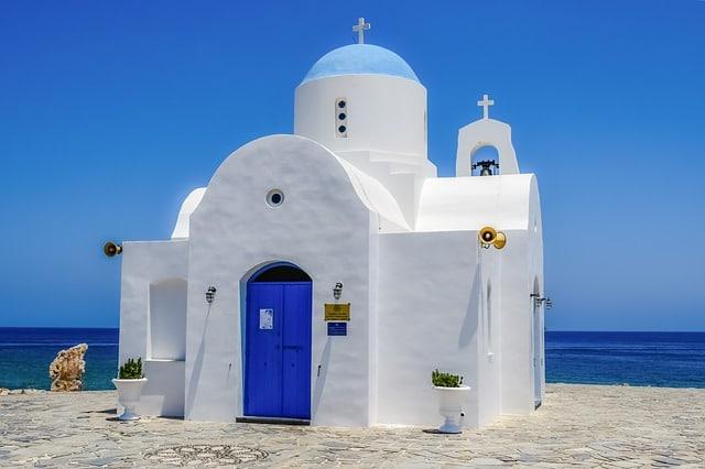 כנסיית ayios nikolaos בפרוטראס
