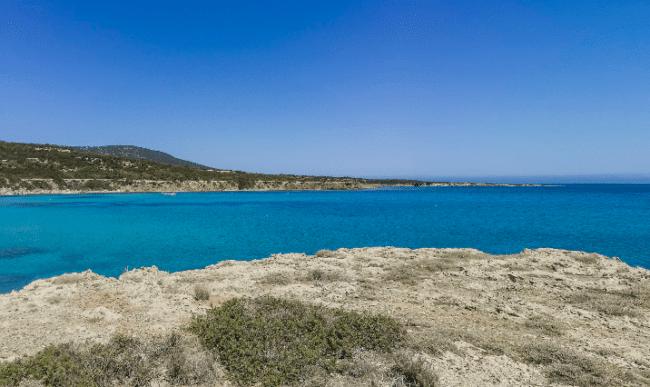 הלגונה הכחולה בפאפוס קפריסין