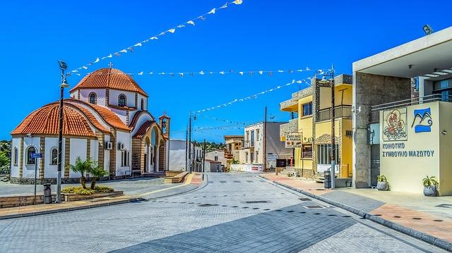 כיכר הכפר מזוטוס