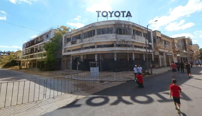 מבנה טויוטה בורושה