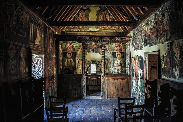 ציורי קיר בכנסיית Archangel Michael