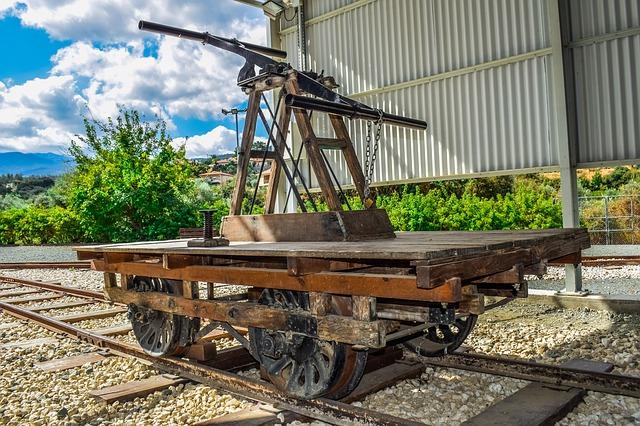 קרון ישן במוזיאון הרכבות